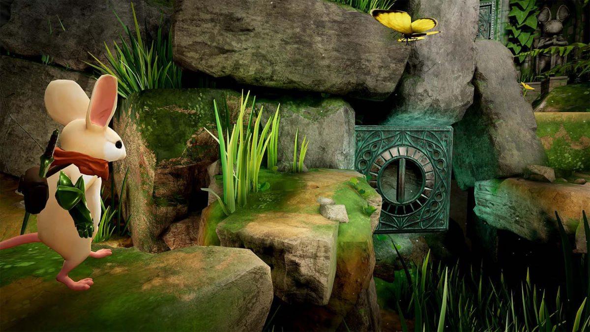 El mundo mágico de Moss llega a PlayStation VR