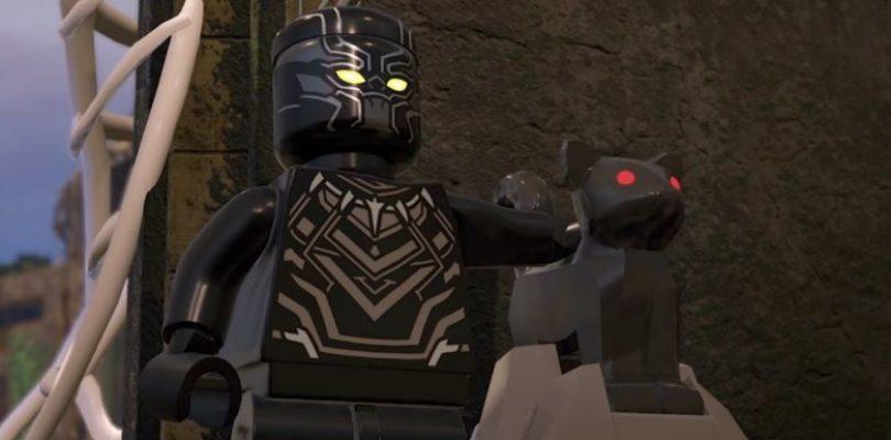 Black Panther llega a LEGO Marvel Super Heroes 2