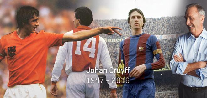 Johan Cruyff vuelve a los terrenos de juego en Pro Evolution Soccer 18