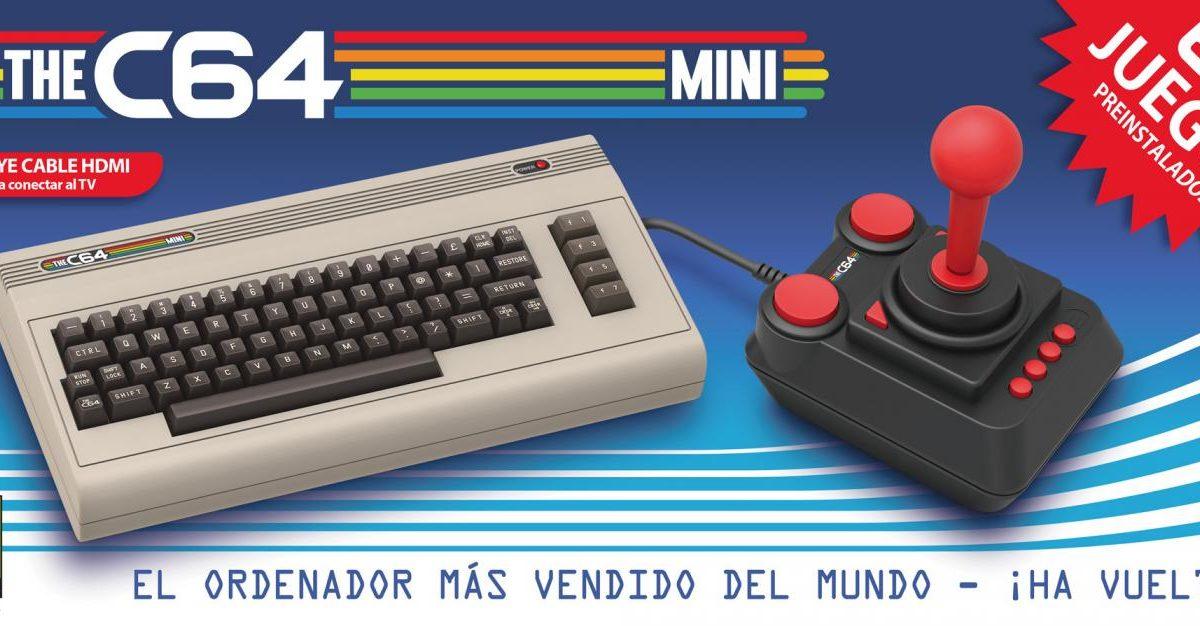 La versión mini del TheC64 se comercializará el 29 de marzo
