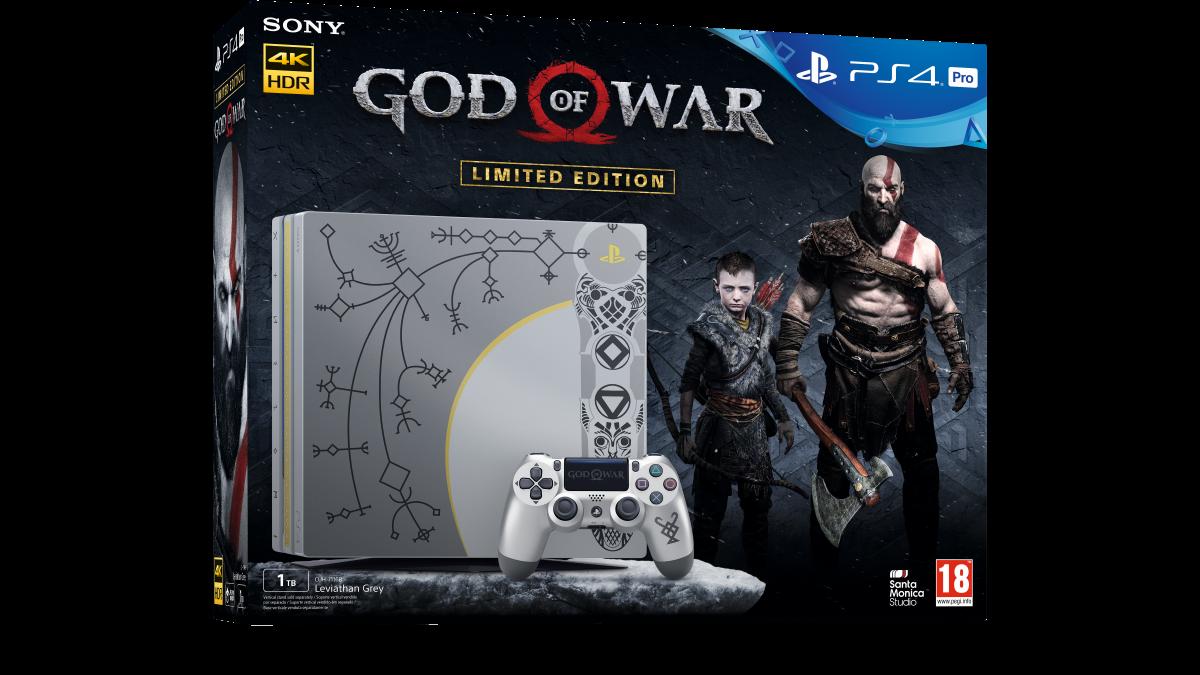 Llega el Pack Edición Especial PS4 Pro God of War