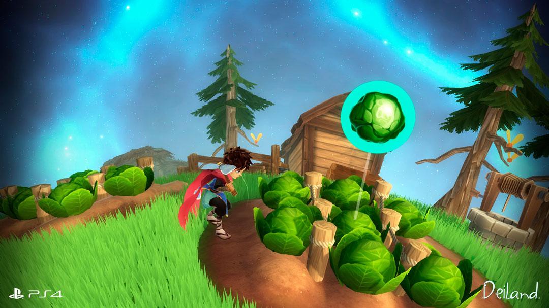 El videojuego de rol español Deiland desembarca en PlayStation 4