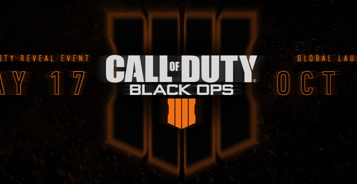 12 de octubre: Activision confirma Call of Duty: Black Ops 4
