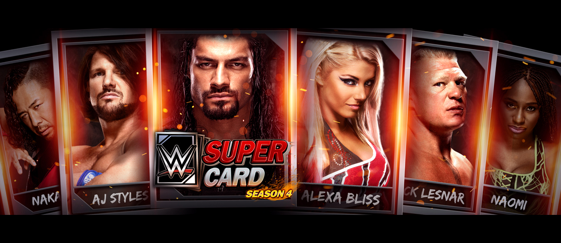 La temporada 4 de WWE SuperCard llega el próximo  miércoles