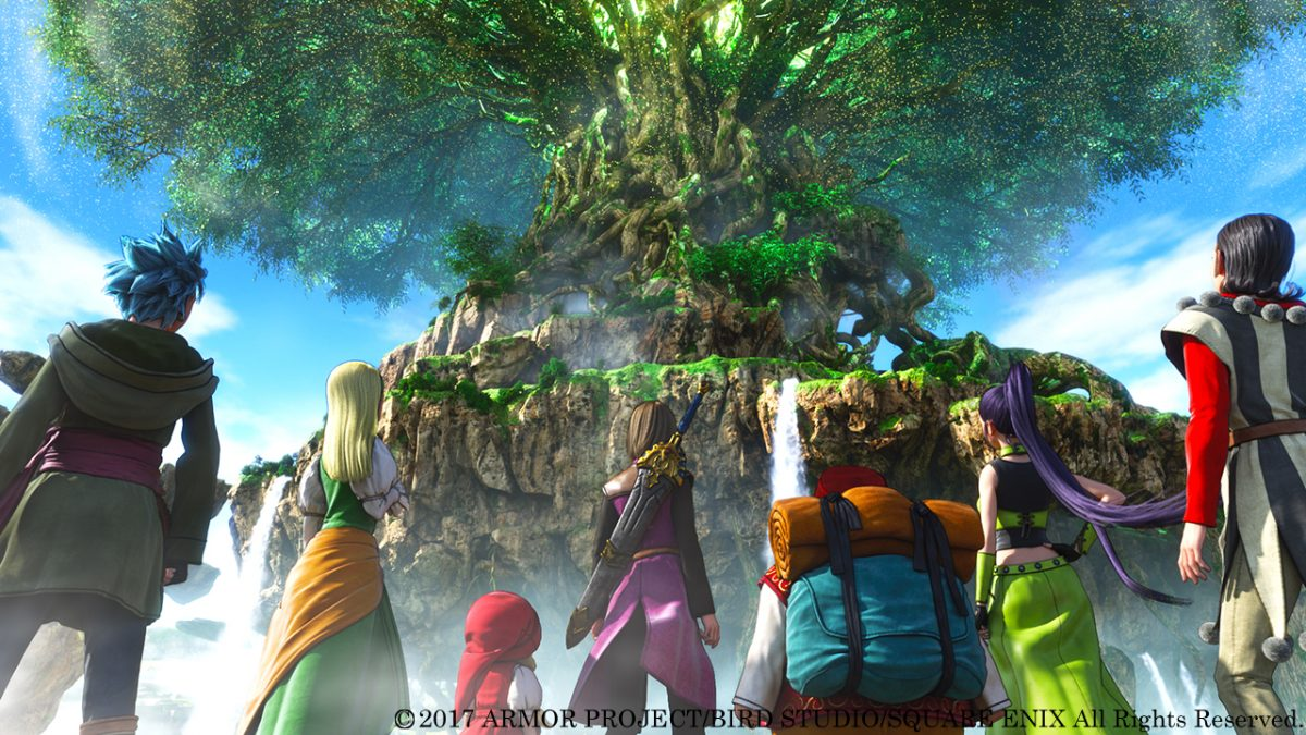 Dragon Quest XI disponible el 4 de septiembre para PS4 y STEAM®