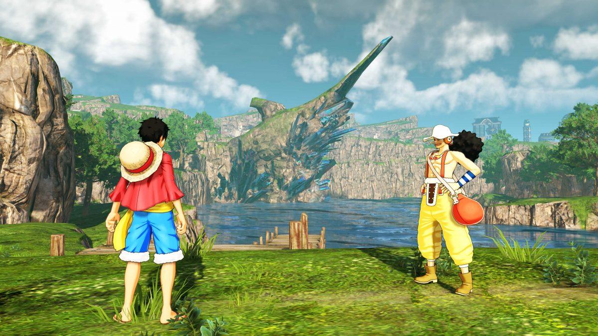 La tripulación del Sombrero de Paja llega a Jail Island en One Piece World Seeker