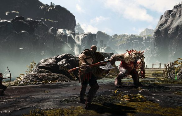 Los imponentes Kratos y God of War llegan a Playstation 4