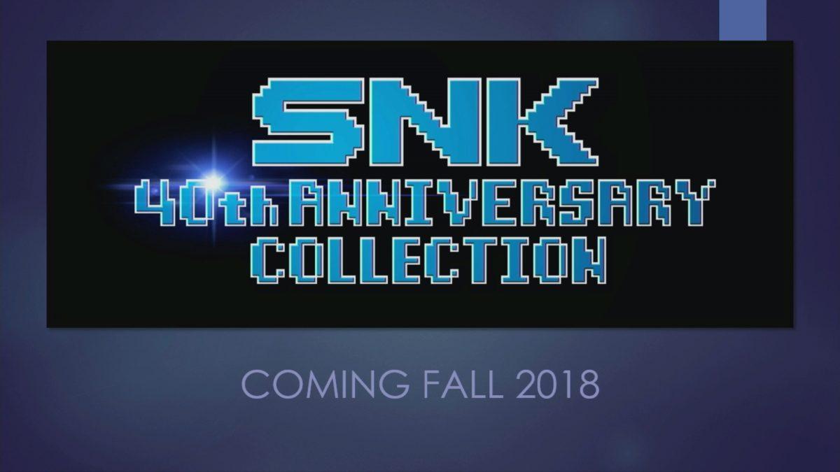 SNK 40th Anniversary llegará este otoño