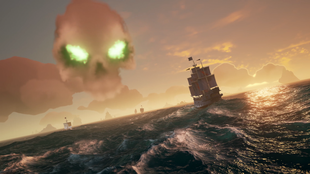 Ven con tu familia a navegar con Sea of Thieves