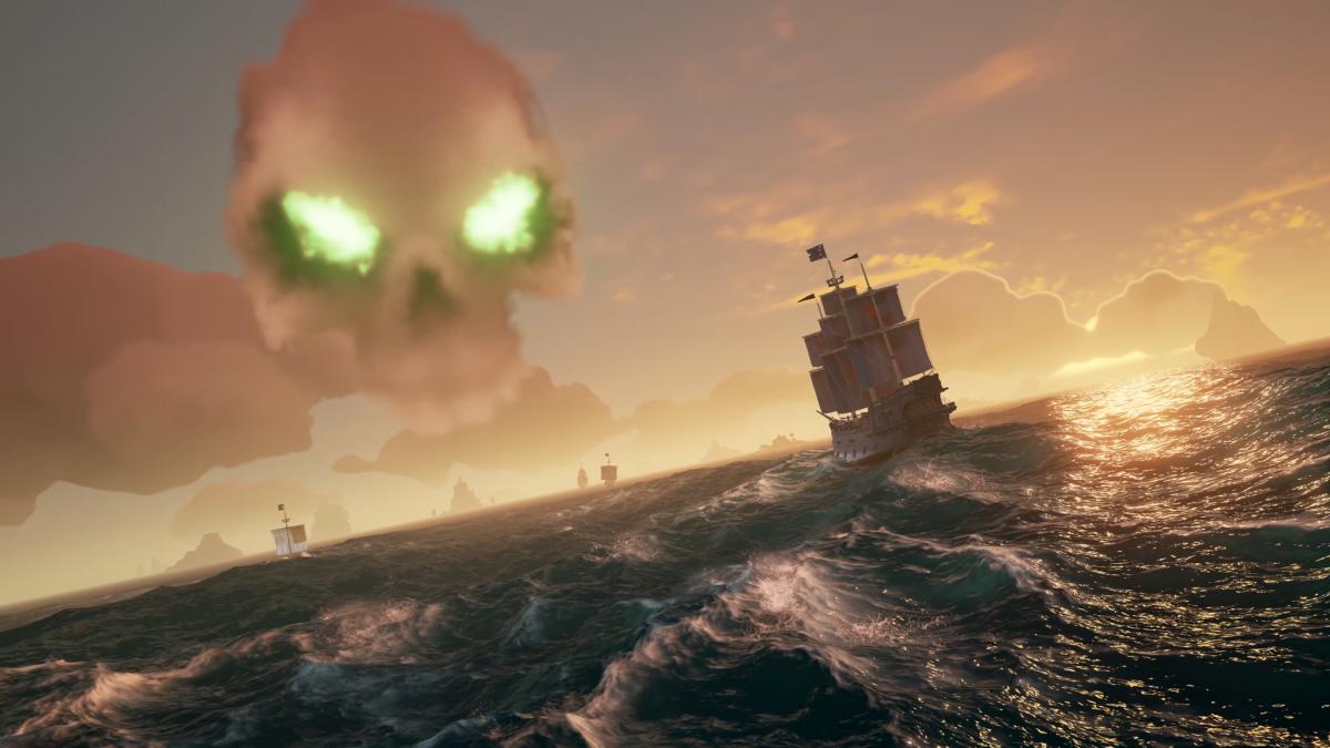 Invita a tus amigos a navegar con Sea of Thieves