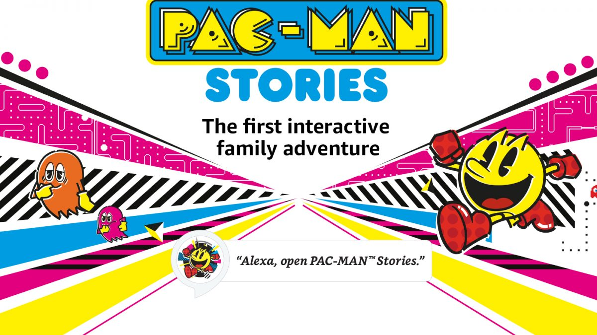 Llegan aventuras divertidas e interactivas a Amazon Alexa  con Pac-Man Stories