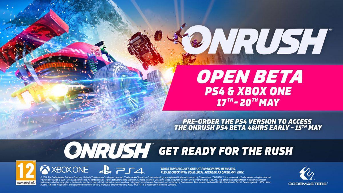 Desvelados los detalles de la beta abierta de ONRUSH