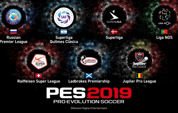 The Power of Football continua con PES 2019, KONAMI anuncia 7 ligas