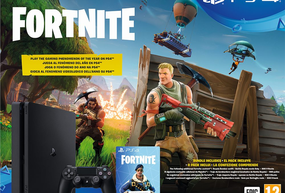 El pack Fortnite Battle Royale para PlayStation 4 aterriza en España