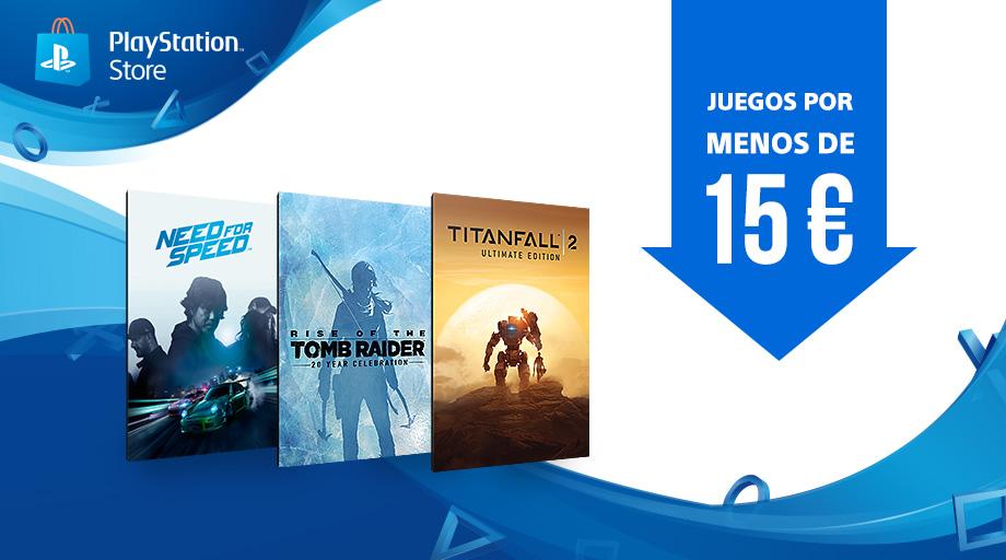 Llegan los juegos por menos de 15 € a PS Store