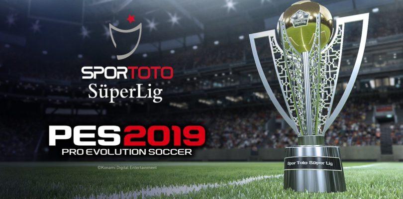 PES 2019 contará con la Süper Lig de Turquía
