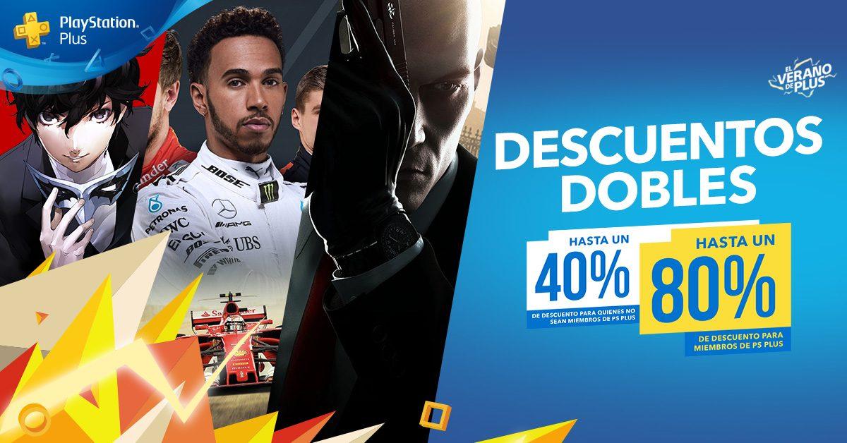 PlayStation Plus lanza la campaña Dobles Descuentos