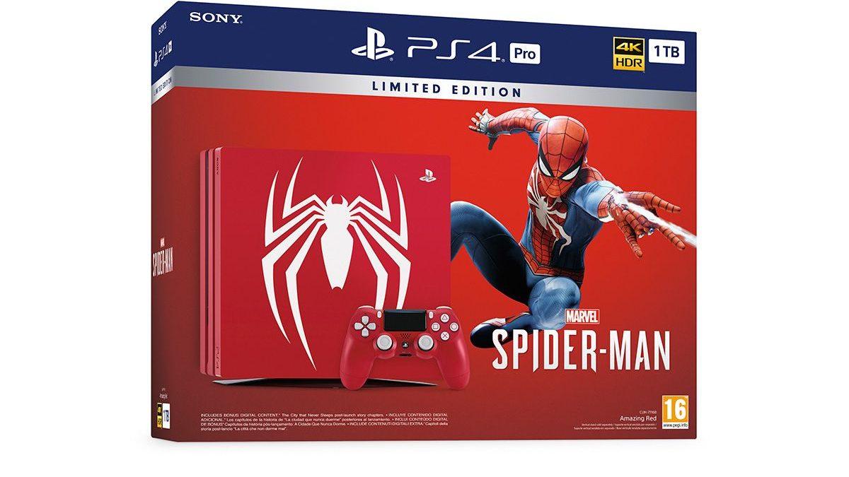 Nuevo pack de Edición Limitada de PS4 inspirado en Marvel's Spider-Man