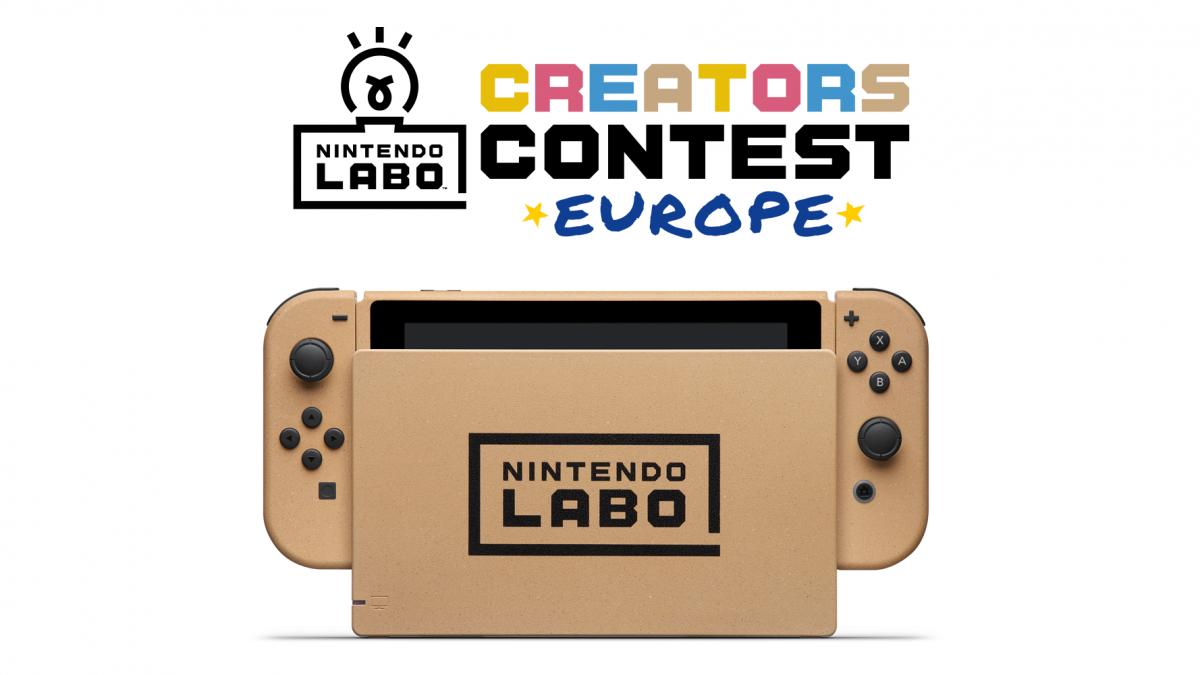 Comienza el concurso europeo de creación con Nintendo Labo