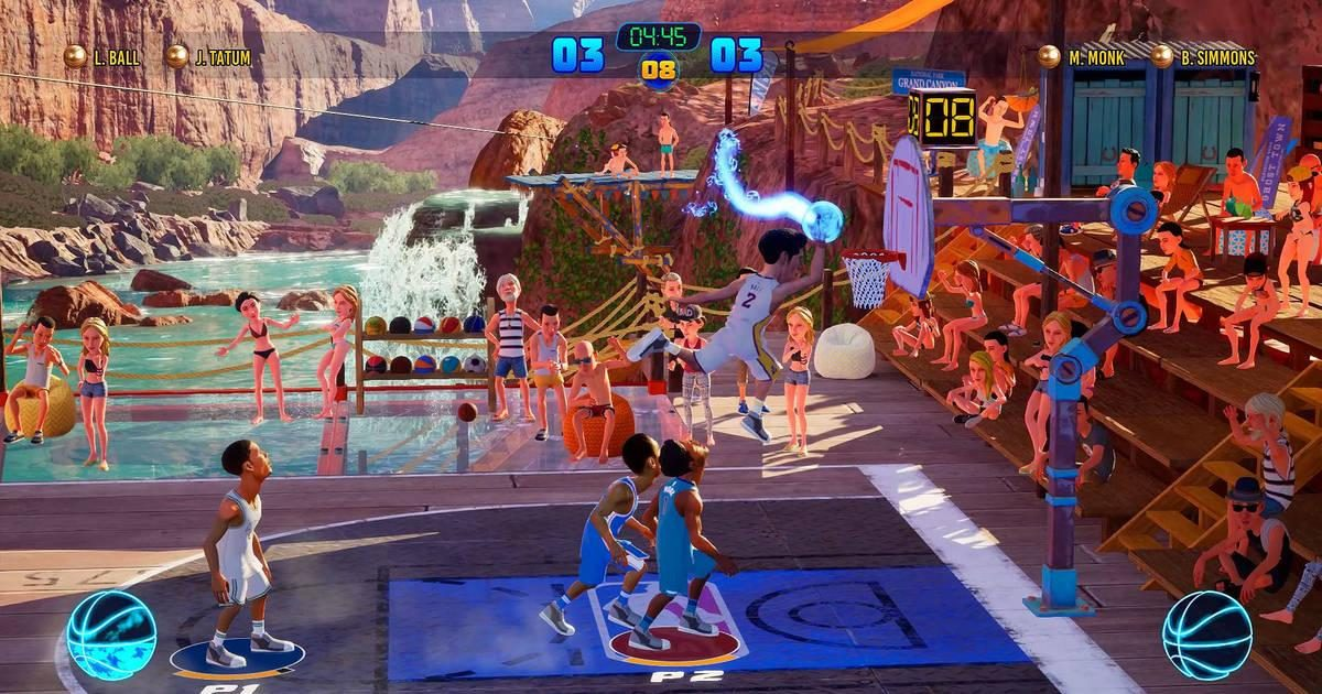 2K amplía su catálogo con NBA 2K Playgrounds 2