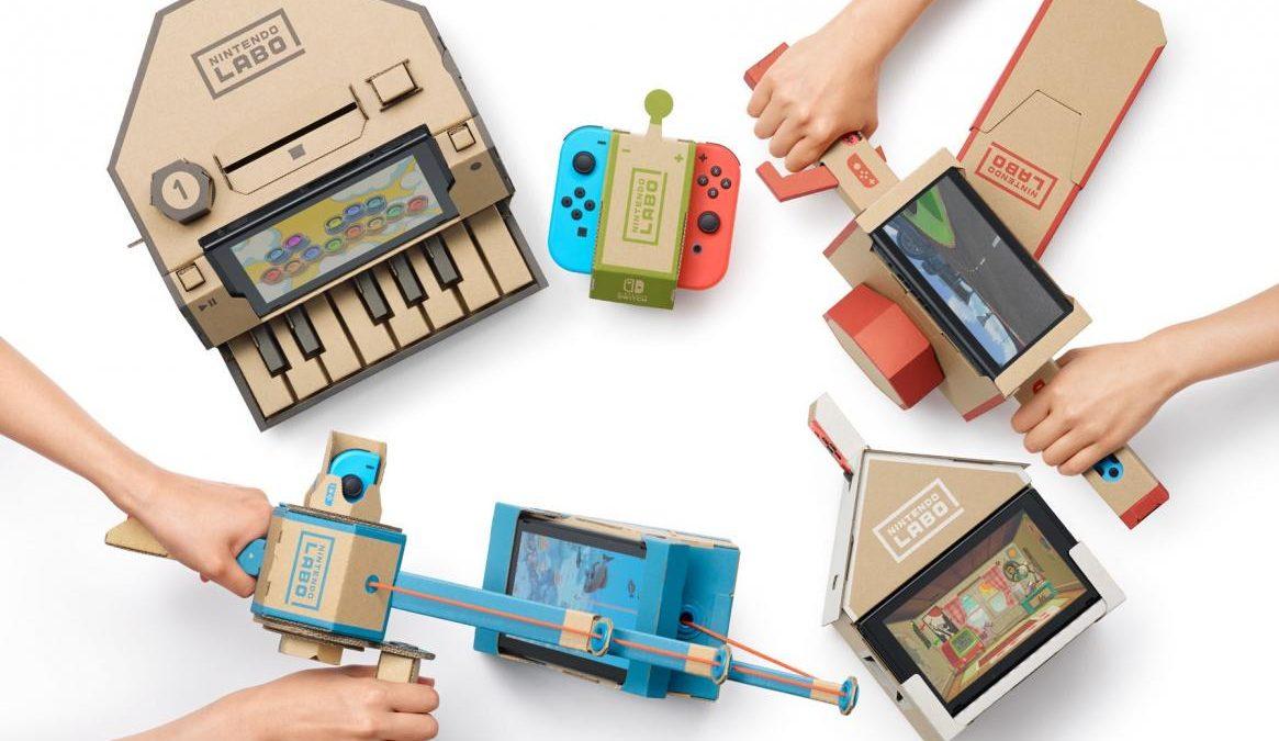Conduce, navega y vuela con el nuevo kit de vehículos de Nintendo Labo