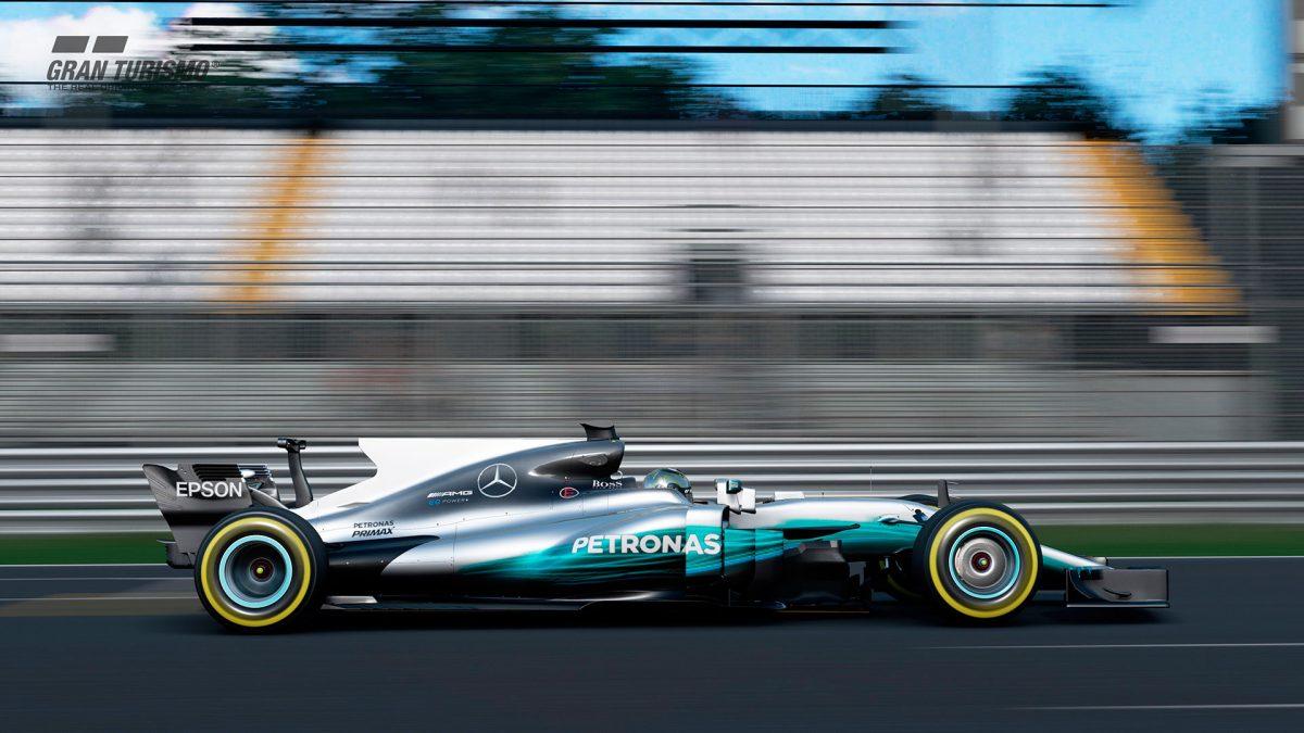 Compite con el monoplaza de Hamilton con la actualización de Gran Turismo Sport