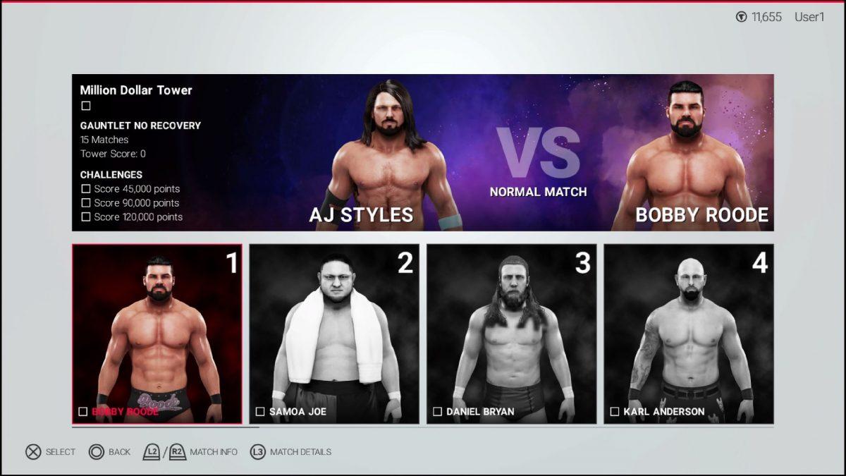 WWE® 2K19 presenta un nuevo modo ligado al Reto del Millón de Dólares