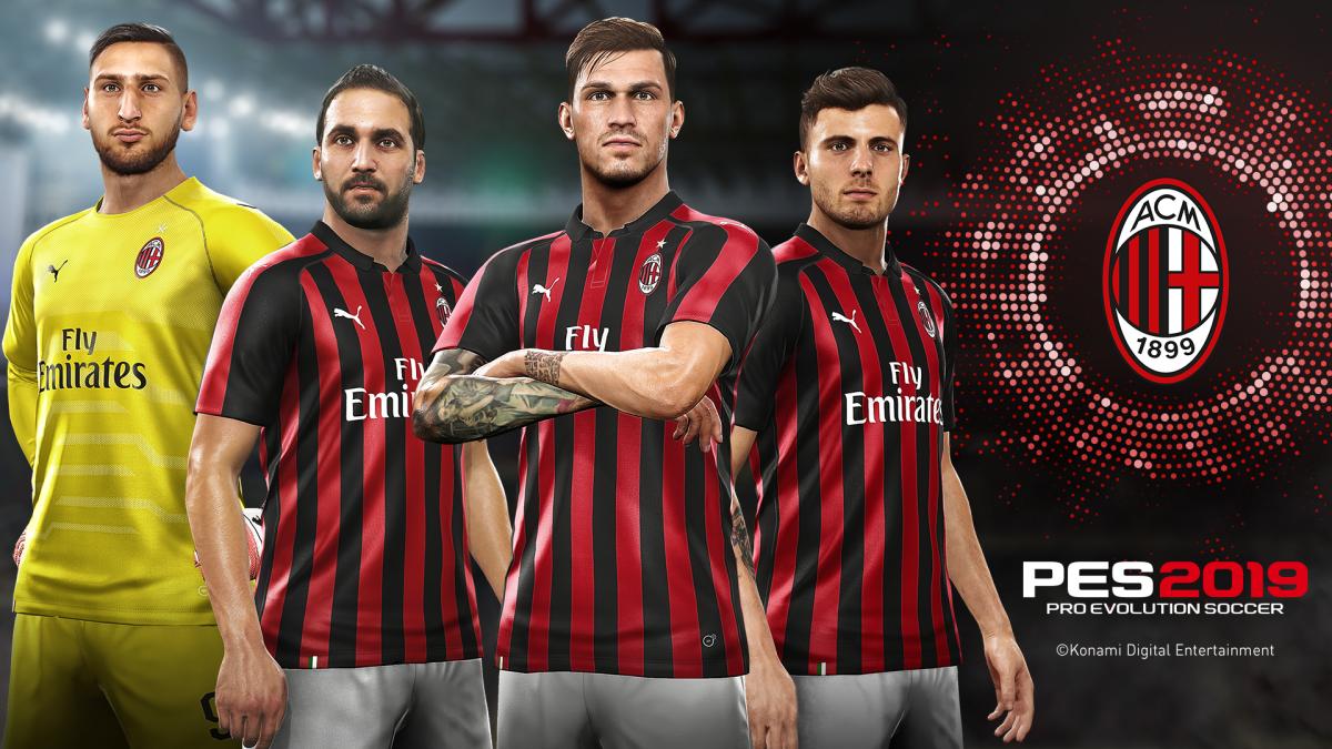 'The Power of Football' se refuerza mientras Konami y el Milan amplían su acuerdo