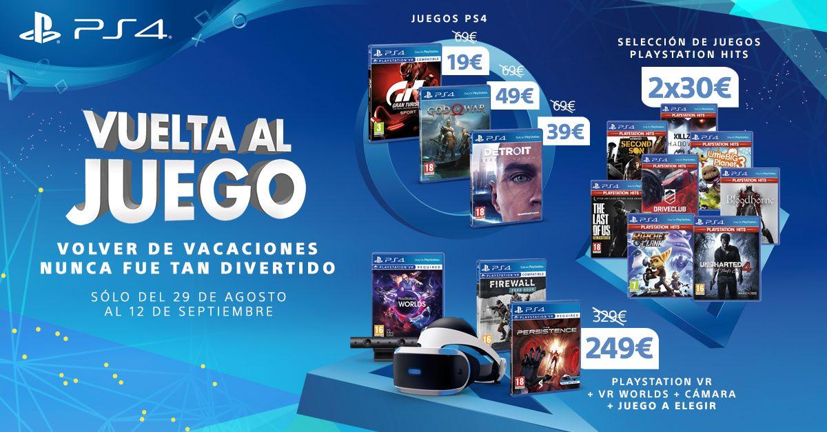PlayStation pone en marcha la promoción 'Vuelta al Juego'