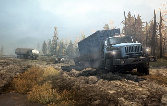 Spintires: MudRunner–American Wilds llega para PC, PS4 y Xbox One