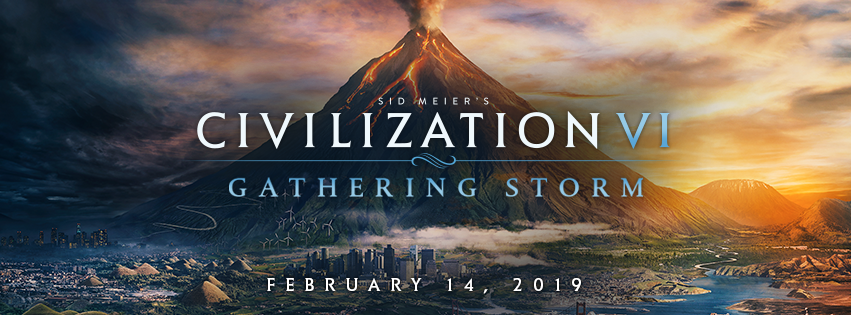 Sid Meier's Civilization VI: Gathering Storm disponible el 14 de febrero