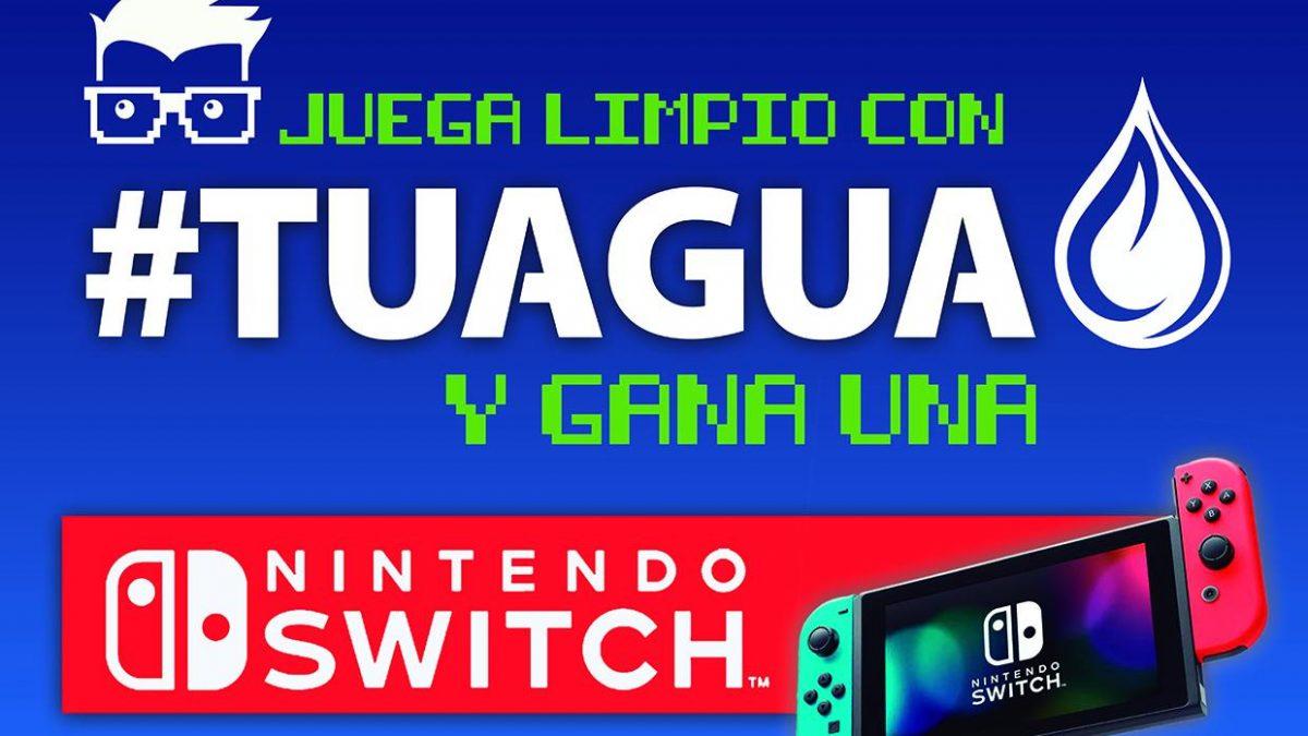 Gana una Switch en Andalucía Game gracias a Juega Limpio con #TuAgua