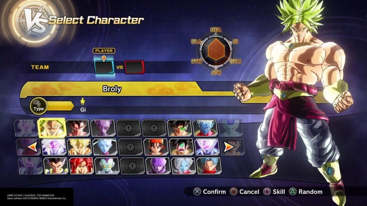 El extra pack 4 de Dragon Ball Xenoverse 2 incluye al villano Broly