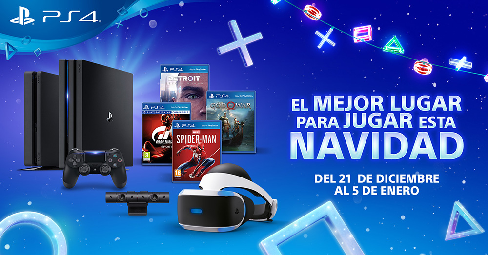 PlayStation lanza sus ofertas navideñas de hardware y software