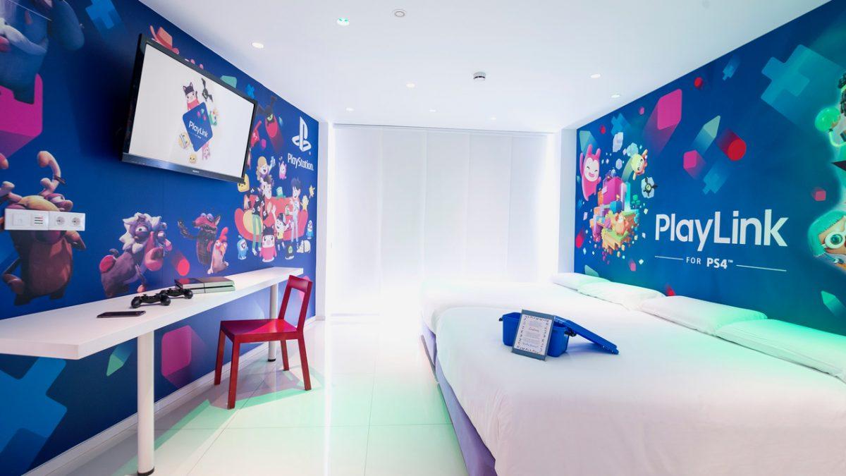 PlayStation® inaugura la habitación PlayLink™ en el Hotel del Juguete