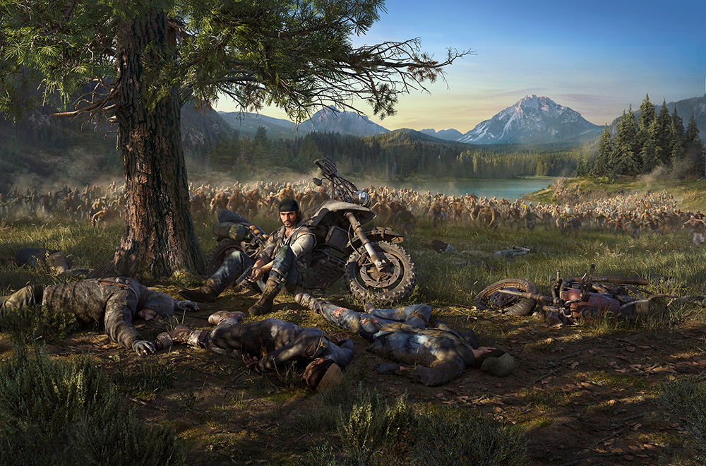Days Gone presenta su segundo vídeo «Recorriendo la carretera rota»