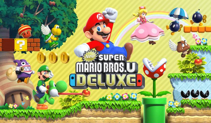 Un Mario de lujo inaugura el catálogo de Nintendo Switch