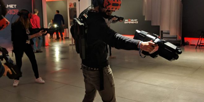 """Red Helmet, acción total en 360 grados gracias a la """"hiperrealidad virtual"""""""