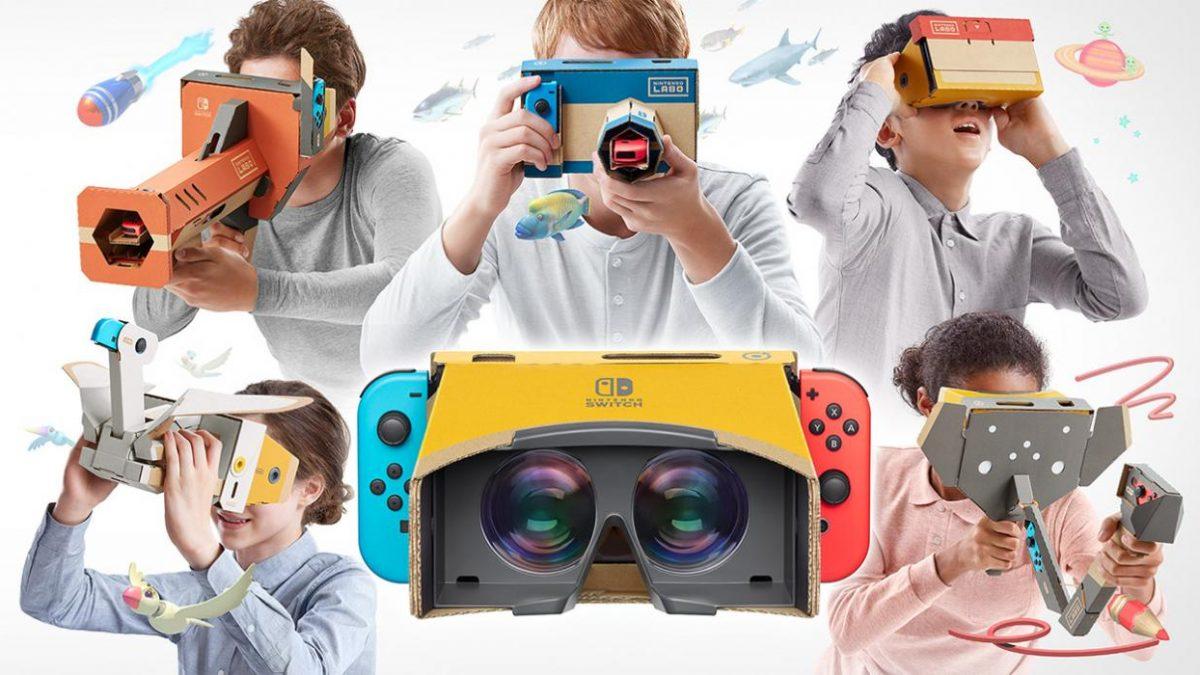 Nintendo Labo introduce a los pequeños inventores en una nueva experiencia de VR
