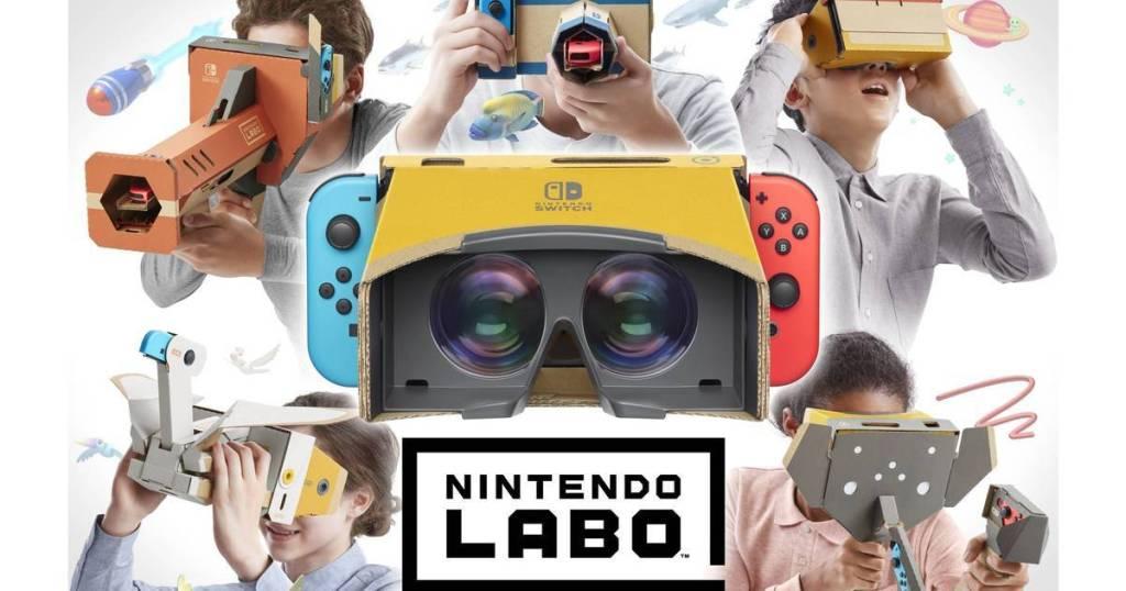 Realidad virtual para toda la familia con Nintendo Labo: Kit de VR