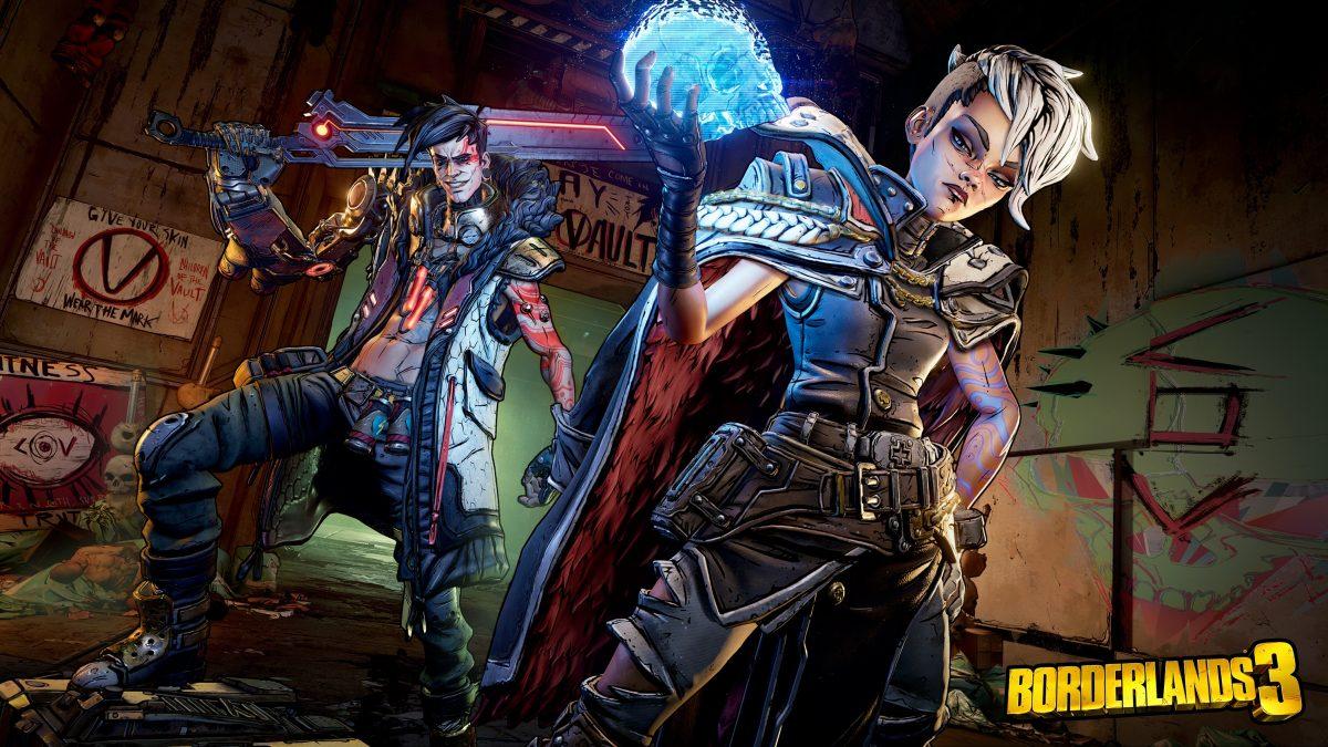 Borderlands 3: Echa un vistazo más de cerca al arte de portada