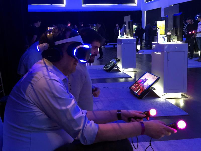 Pinta, grita y vuela como Iron Man con nueva realidad virtual de PS4