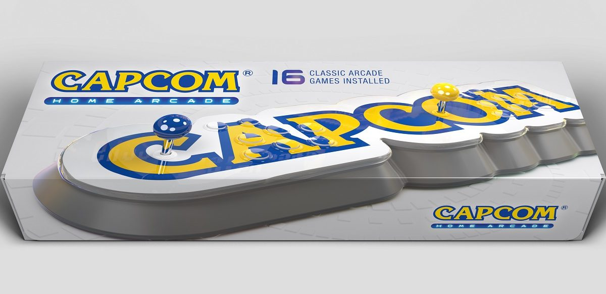 Anunciada la recreativa de sobremesa Capcom Home Arcade