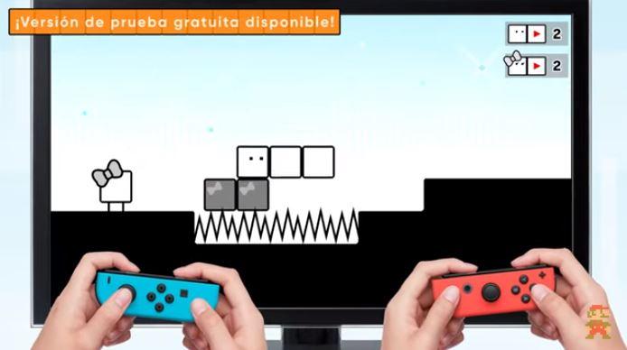 Demo de BOXBOY! + BOXGIRL!, ya disponible en Nintendo eShop