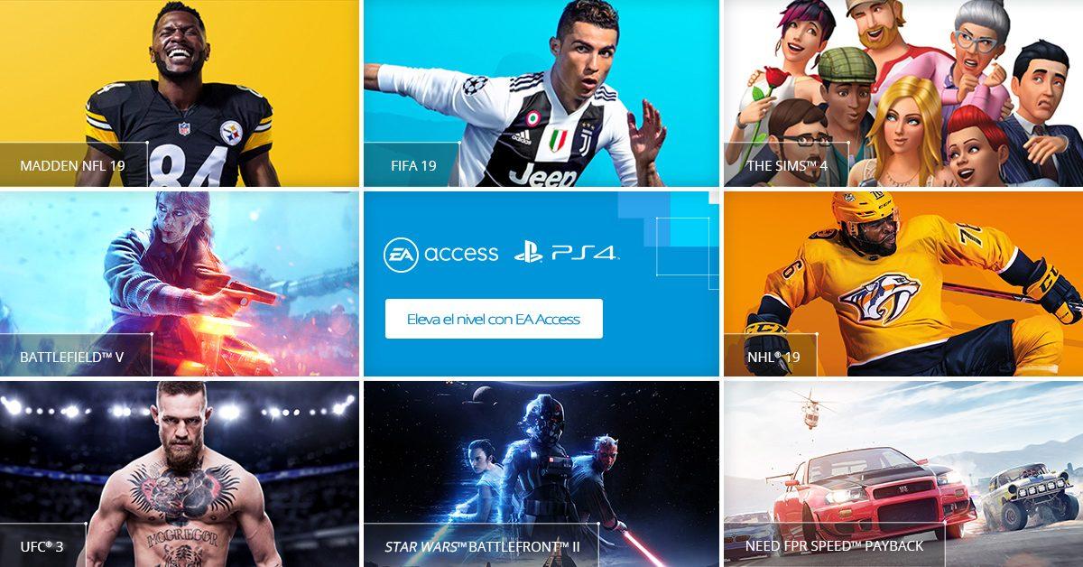 EA Access llegará a PlayStation 4 en julio