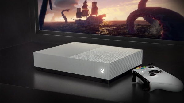 Xbox One S All-Digital Edition ya a la venta