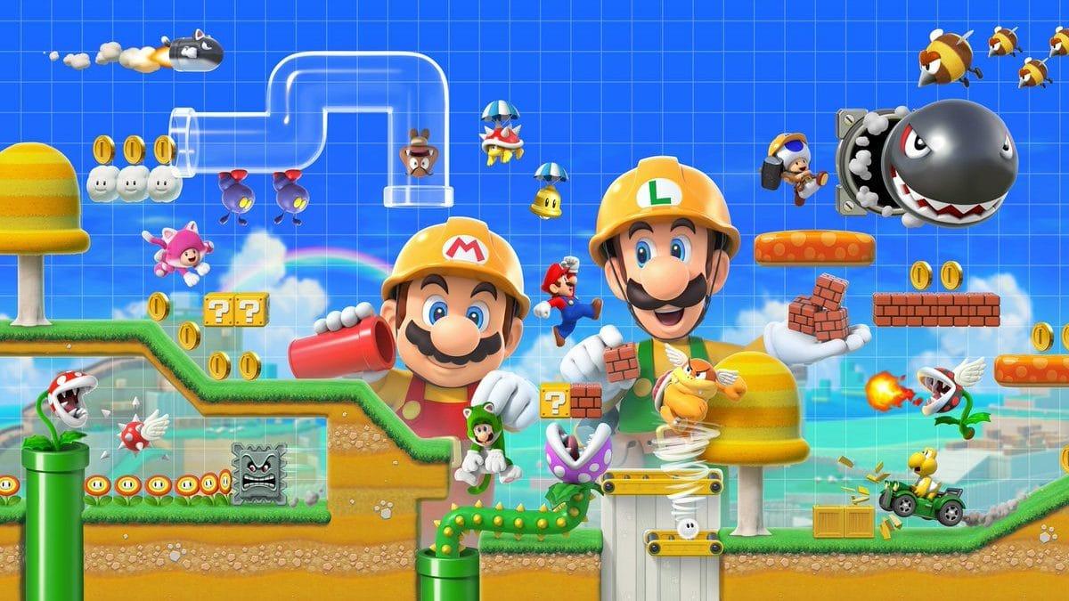 Nintendo incorpora modos multijugador en su Super Mario Maker 2