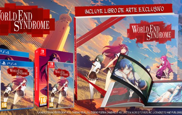 Arc System Works lanza WorldEnd Syndrome, una nueva novela visual