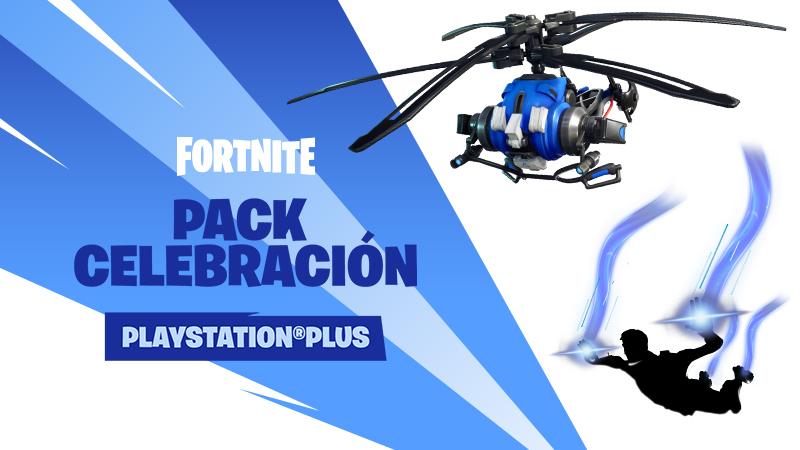 Pack de Fortnite gratuito y exclusivo para los miembros de PS Plus