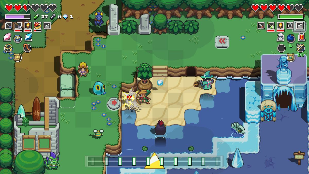 Cadence of Hyrule ya está disponible en Nintendo Switch
